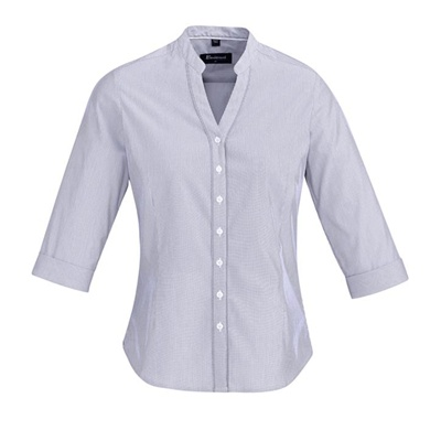 BC Bordeaux Ladies 3/4 Sleeve Shirt 40114 2