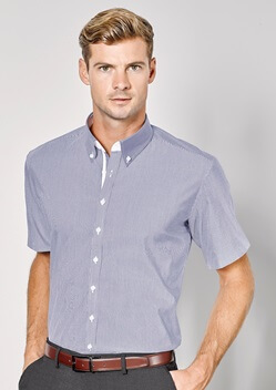 BC Fifth Ave Mens Short Sleeve Shirt 40122