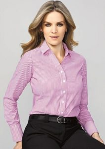 BC Vermont Ladies Long Sleeve Shirt 40210