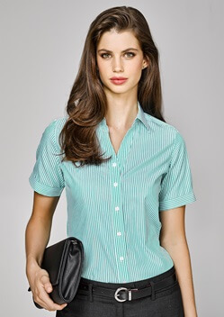BC Vermont Ladies Short Sleeve Shirt 40212 1