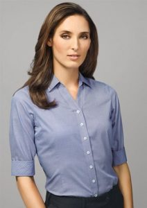 BC Hudson Ladies 3/4 Sleeve Shirt 40311