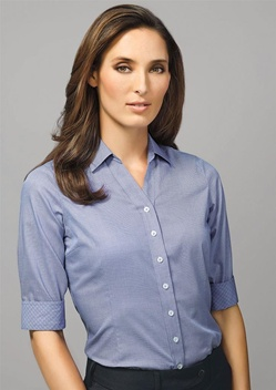 BC Hudson Ladies 3/4 Sleeve Shirt 40311 1