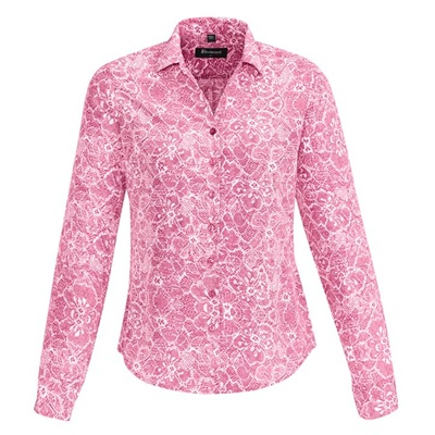 BC Solanda Ladies Print Long Sleeve Shirt 40510 5