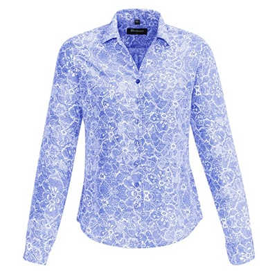 BC Solanda Ladies Print Long Sleeve Shirt 40510 2
