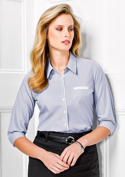 BC Calais Ladies 3/4 Sleeve Shirt 41721