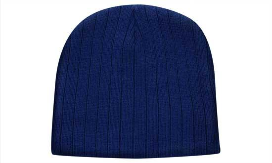 HP Cable Knit Beanie 4189 6