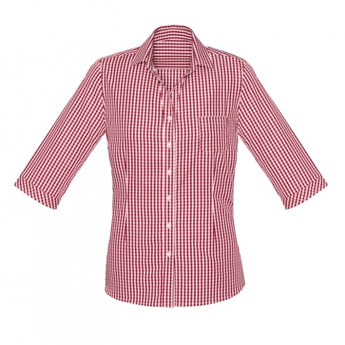 BC Springfield Ladies 3/4 Sleeve Shirt 43411 2