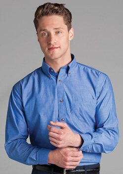 JB Indigo Adults Long Sleeve Shirt 4IC