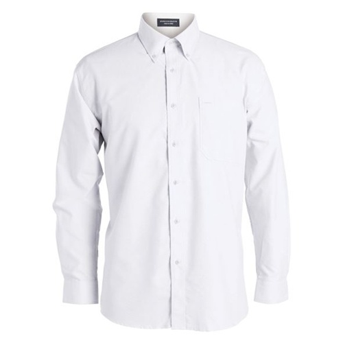 JB Oxford Adults Long Sleeve Shirt 4OS 3