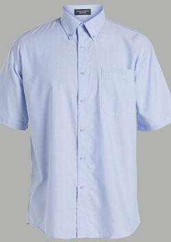 JB Oxford Adults Short Sleeve Shirt 4OSX