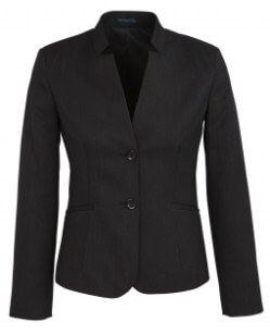 BC Ladies Cool Stretch Plain Short Jacket with Reverse Lapel 60113 2