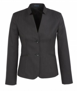 BC Ladies Cool Stretch Plain Short Jacket with Reverse Lapel 60113 3
