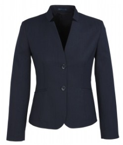 BC Ladies Cool Stretch Plain Short Jacket with Reverse Lapel 60113 4