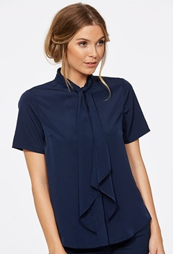 CR Ellie Ladies Short Sleeve Blouse 6090S91