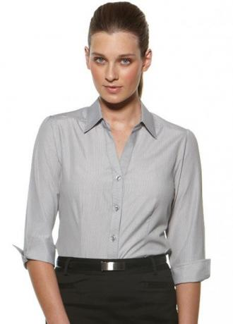 CR Deluxe Ladies 3/4 Sleeve Shirt 6200Q35 2
