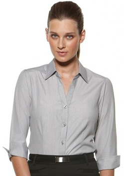 CR Deluxe Ladies 3/4 Sleeve Shirt 6200Q35 1