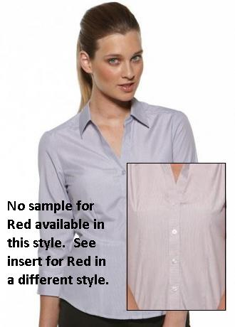 CR Deluxe Ladies 3/4 Sleeve Shirt 6200Q35 5