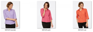CR Climate Smart Ladies Semi Fitted 3/4 Sleeve Shirt 6301Q19 4