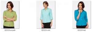 CR Climate Smart Ladies Semi Fitted 3/4 Sleeve Shirt 6301Q19 5