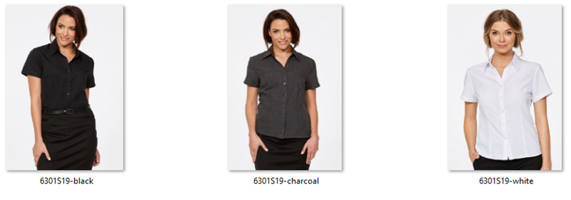 CR Climate Smart Ladies Semi Fitted Short Sleeve Shirt 6301S19 2