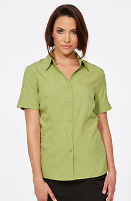 CR Climate Smart Ladies Easy Fit Short Sleeve Shirt 6303V19 2