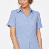 CR Climate Smart Ladies Easy Fit Short Sleeve Shirt 6303V19