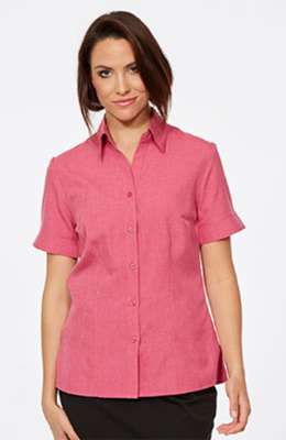CR Climate Smart Ladies Easy Fit Short Sleeve Shirt 6303V19 8