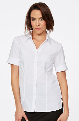 CR Climate Smart Ladies Easy Fit Short Sleeve Shirt 6303V19 11