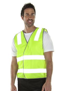 JB Hi Vis Safety Day & Night Vest 6DNSV