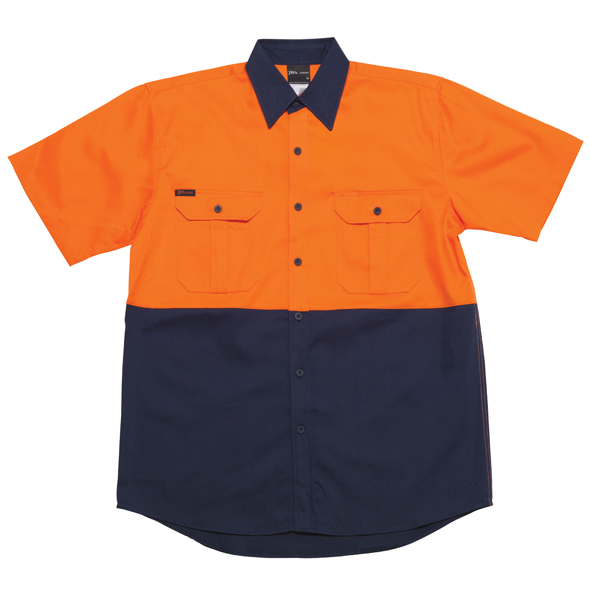 JB Hi Vis Short Sleeve Shirt 6HWS 2