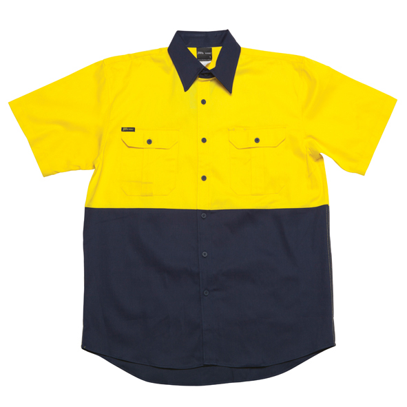 JB Hi Vis Short Sleeve Shirt 6HWS 3