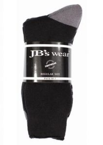 JB Work Socks (3 Pack) 6WWS