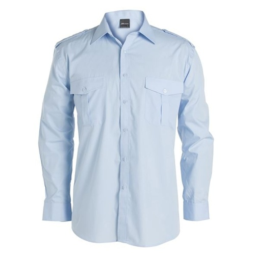 JB Epaulette Adults Long Sleeve Shirt 6E-LS 2