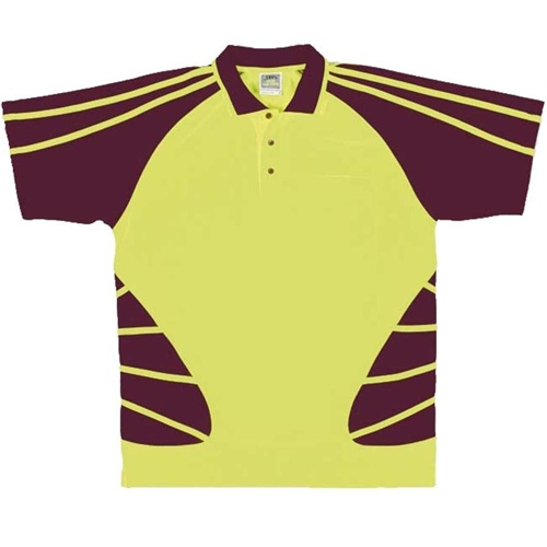 JB Hi Vis Spider Adults Short Sleeve Polo 6HSP 5