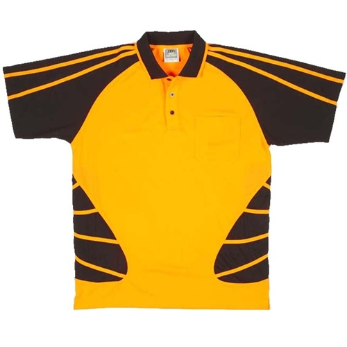JB Hi Vis Spider Adults Short Sleeve Polo 6HSP 6