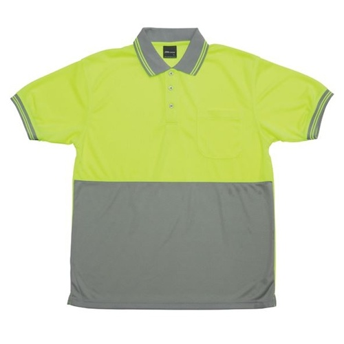 JB Hi Vis Traditional Adults Short Sleeve Polo 6HVPS 9