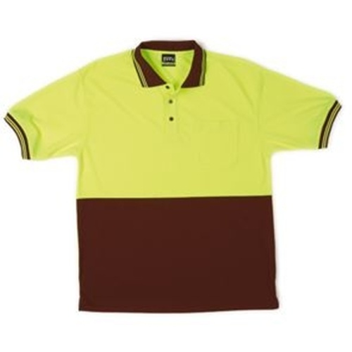 JB Hi Vis Traditional Adults Short Sleeve Polo 6HVPS 5