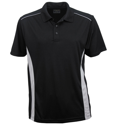 Stencil Player Mens Polo 7011 2