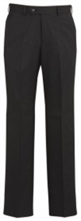 BC Mens Cool Stretch Pinstripe Flat Front Pants 70212 4