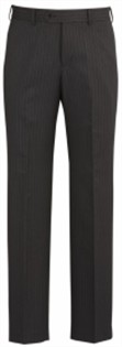 BC Mens Cool Stretch Pinstripe Flat Front Pants 70212 2