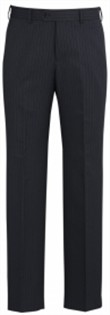 BC Mens Cool Stretch Pinstripe Flat Front Pants 70212 3