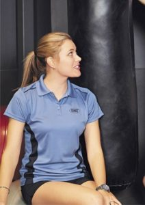 Stencil Player Ladies Polo 7111