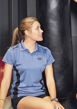 Stencil Player Ladies Polo 7111 1