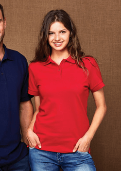 Stencil Traverse Ladies Polo 7115 1