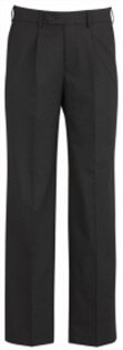 BC Mens Wool Stretch One Pleat Pants 74011 2