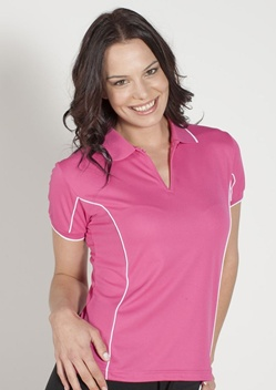 JB Piping Ladies Short Sleeve Polo 7LPI 1
