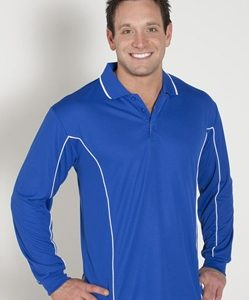 JB Piping Adult Long Sleeve Polo 7PIPL