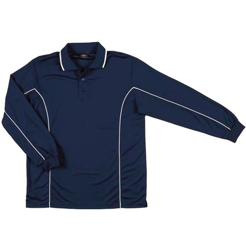 JB Piping Adult Long Sleeve Polo 7PIPL 3