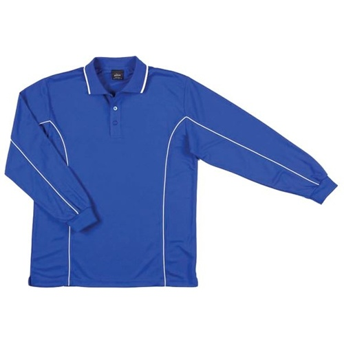 JB Piping Adult Long Sleeve Polo 7PIPL 4