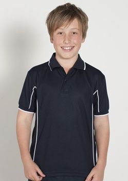 JB Piping Kids Short Sleeve Polo 7PIPS